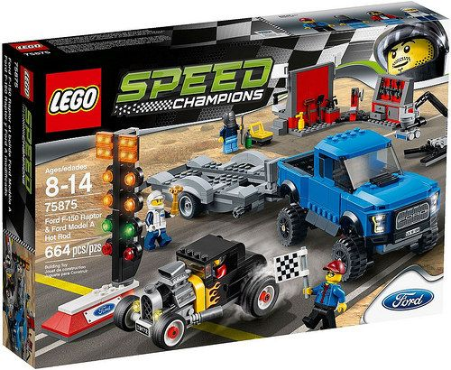 LEGO Speed Champions 75875 Ford F-150 Raptor & Ford Model A Hot Rod [Review]