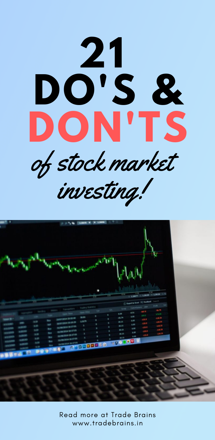 21 Do's and Don'ts of Stock Market Investing for Beginners