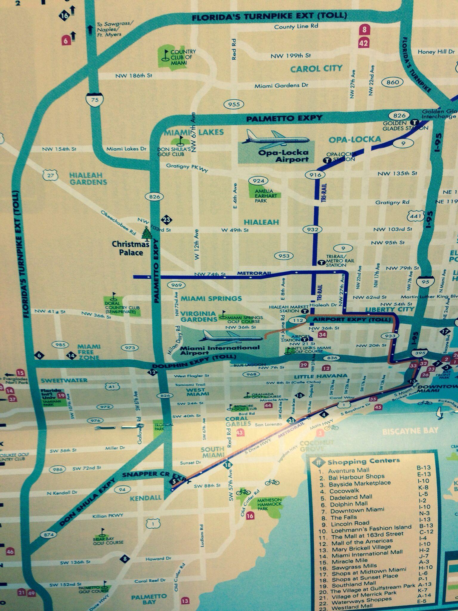 miami map | miami map, miami travel, miami springs