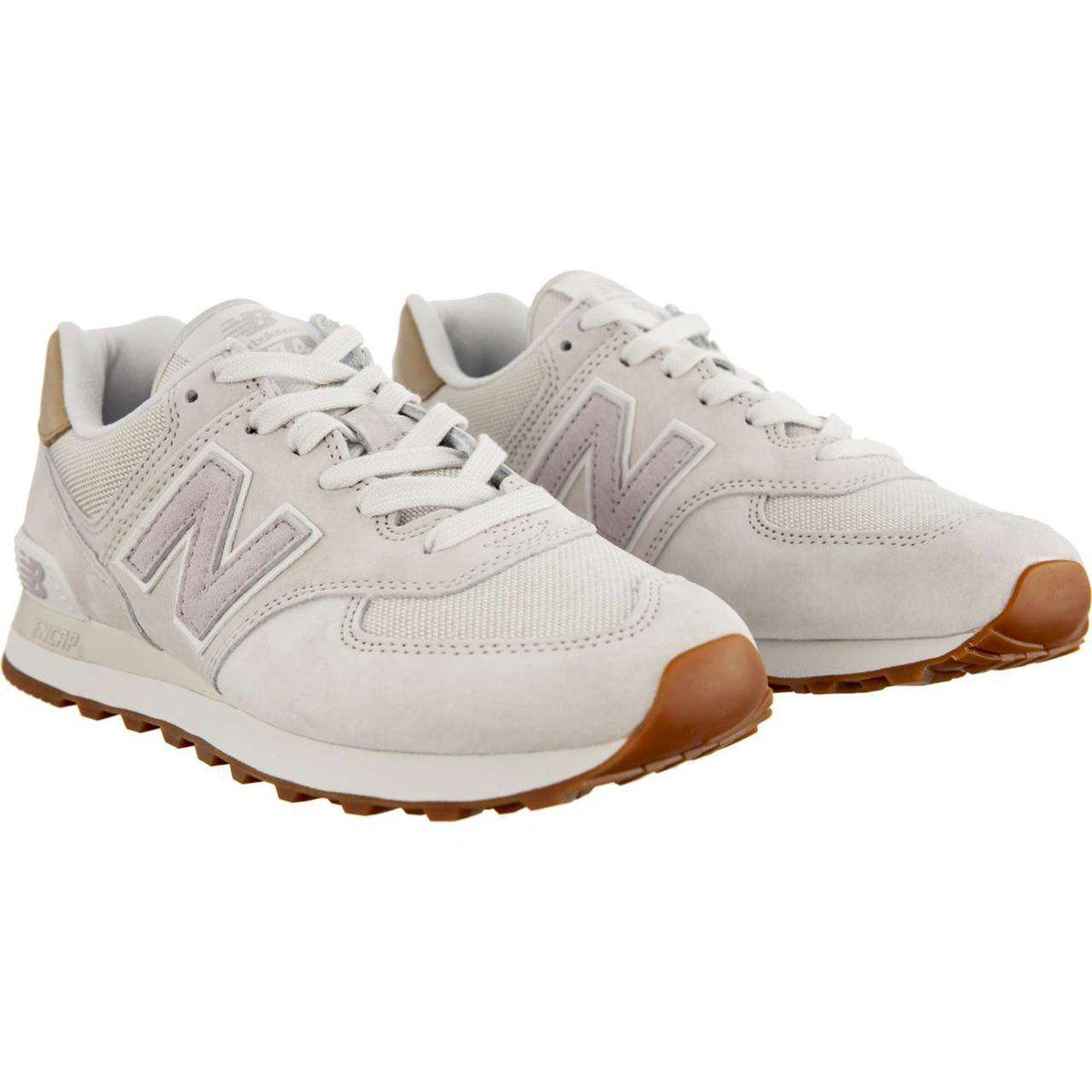 Sportowe Damskie Newbalance New Balance Wl574lcc Light Cliff Grey With Light Cashmere Best Running Shoes Walking In High Heels Nike Shoes Women