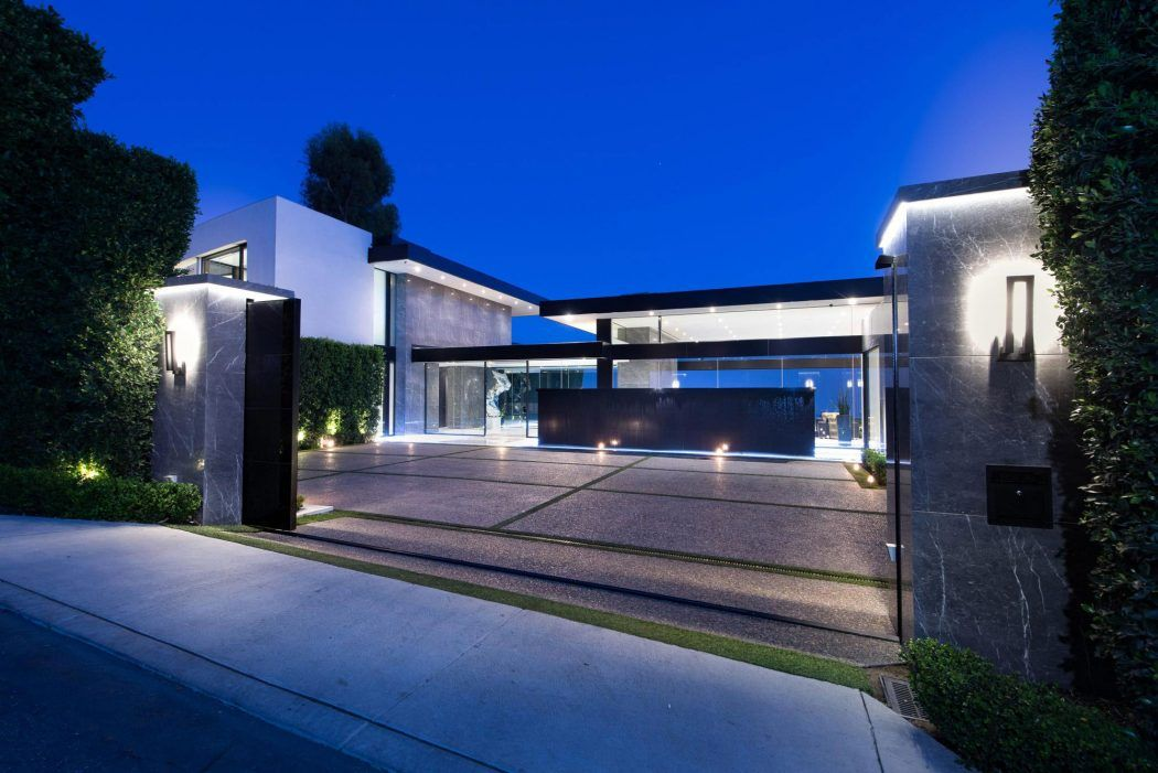 contemporary home in bel airmcclean design | architecture