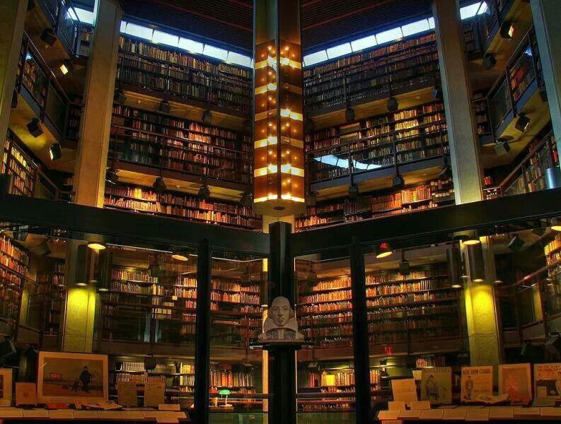 Rare books section
