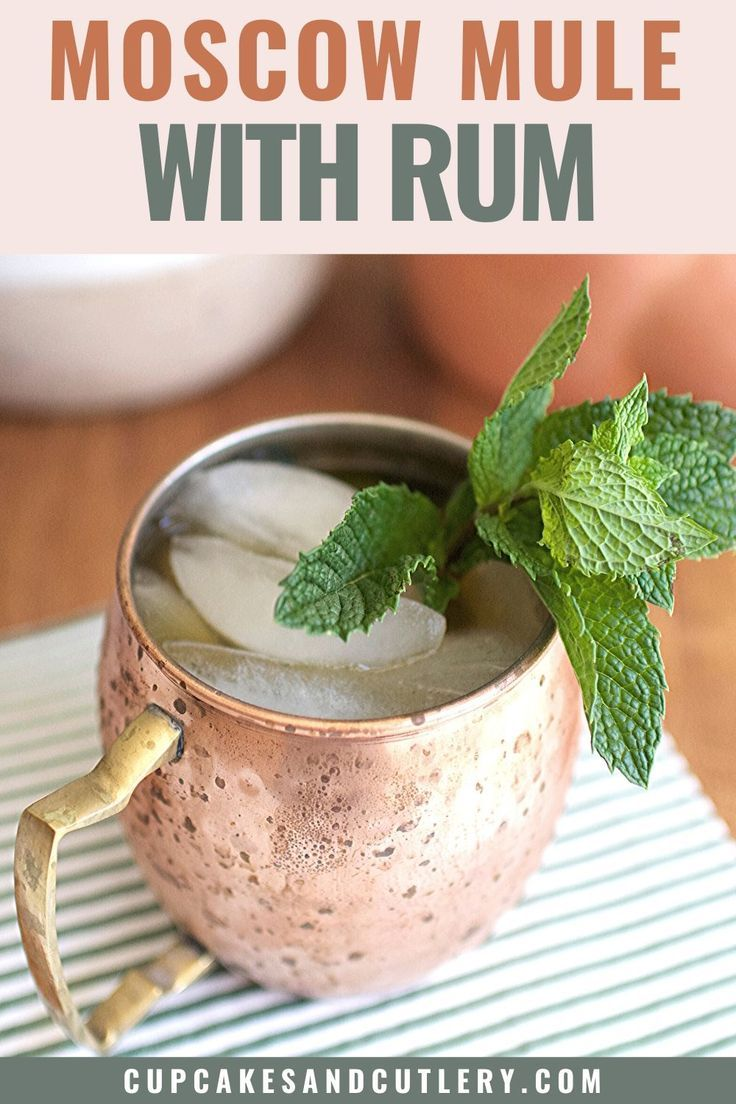 Mouth-Watering Moscow Mule with Rum