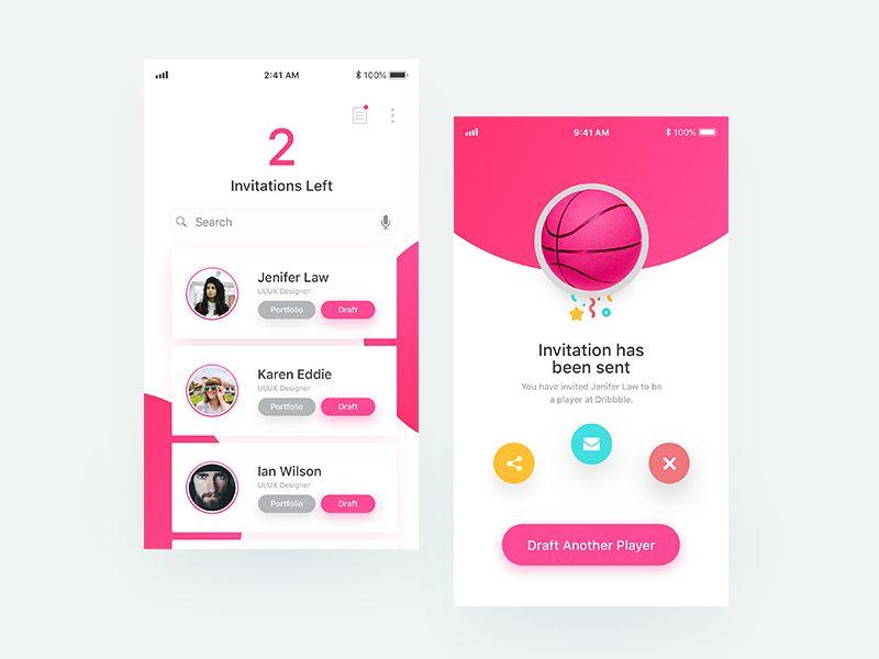 Invitation App Concept