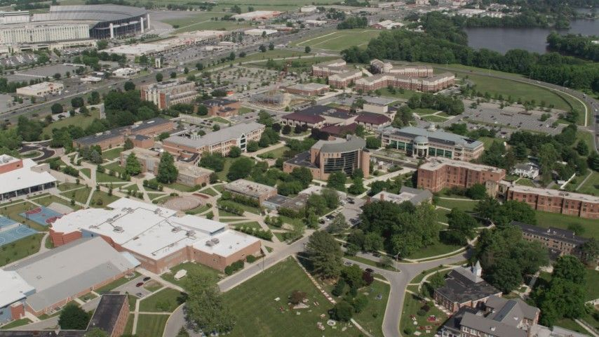 delaware state university campus map 5k Stock Footage Aerial Video Flying By The Delaware State delaware state university campus map