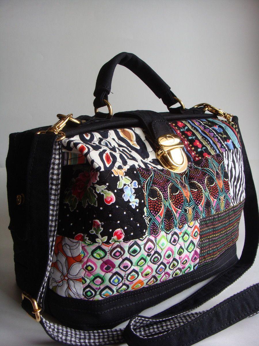 Bolsa feita de lona edcff34400d