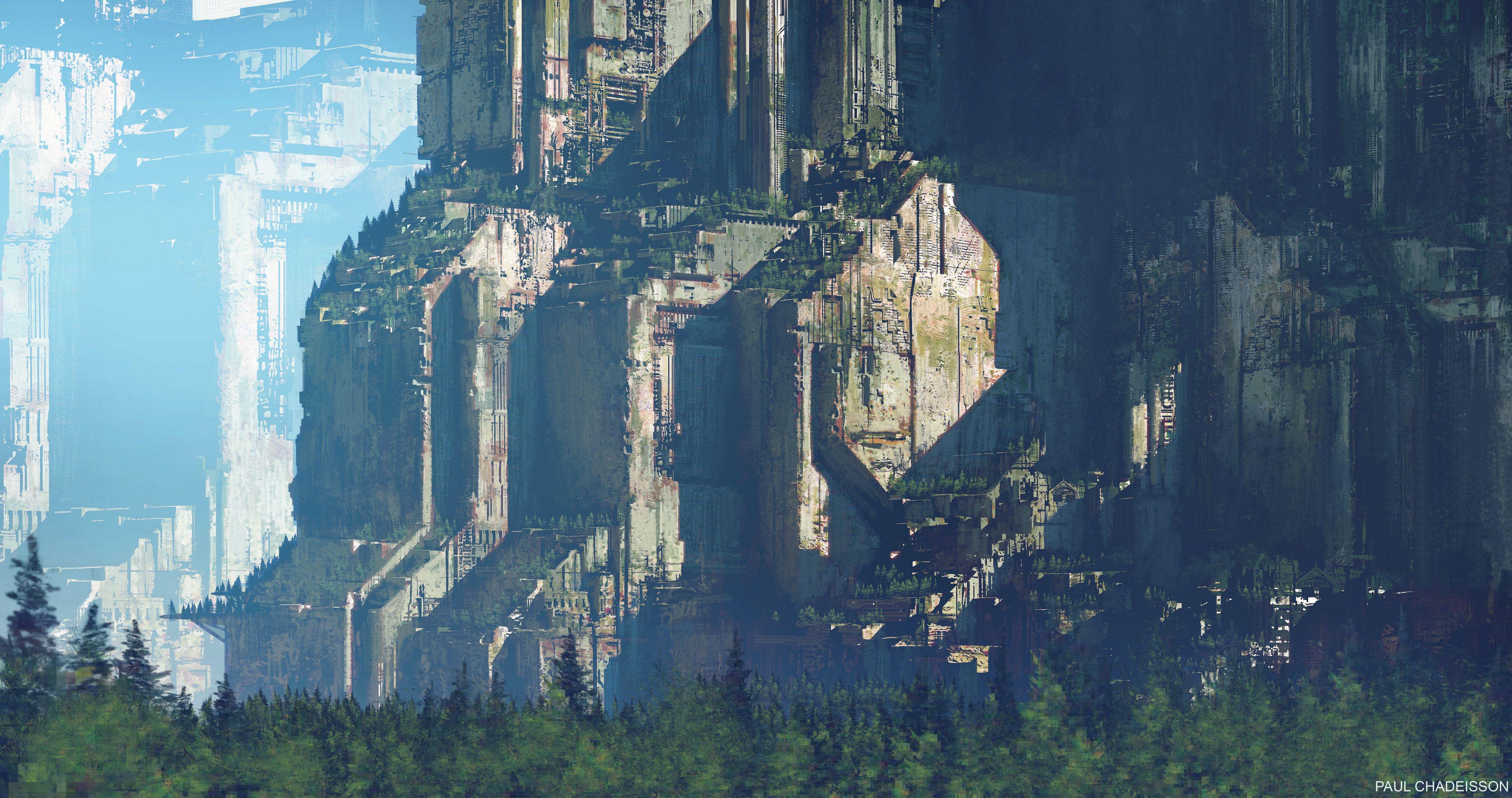 """查看此 Behance 项目 """"Abandoned Blade Runner 02"""" https//www"""