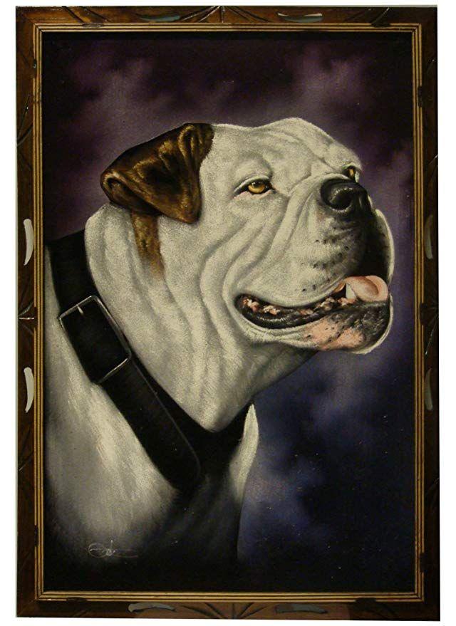 Dogge auf Seide gemalt Hunde Hundespielzeug kaufen