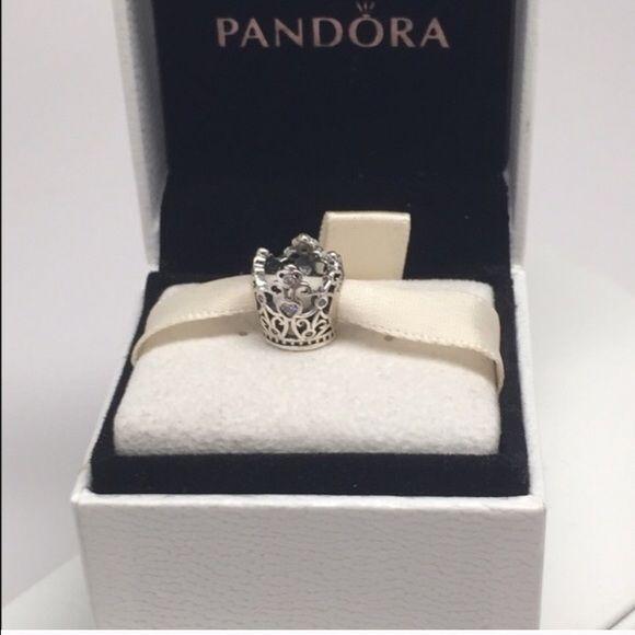pandora disney princess crown charm. Black Bedroom Furniture Sets. Home Design Ideas