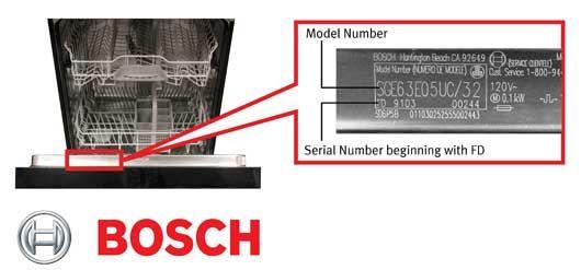 Bsh Home Appliances Recalls Dishwashers Due To Fire Hazard Home Appliances Thermador Dishwasher Appliances