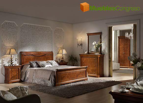 dormitorios clasicos de matrimonio - Buscar con Google | Muebles y ...