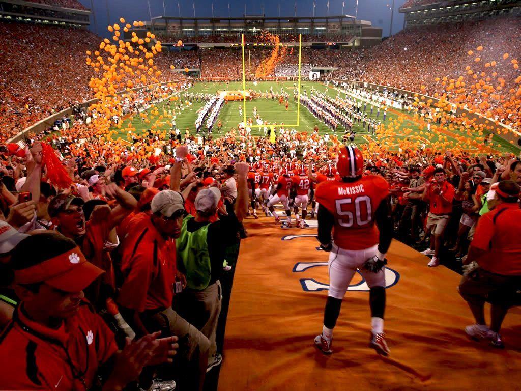 Clemson Backgrounds Clemson Football Wallpaper Desktop Clemson University Clemson Clemson Tigers Football