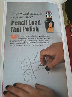 Pencil Lead Nail Polish If Your In School And Dont Have A Lol