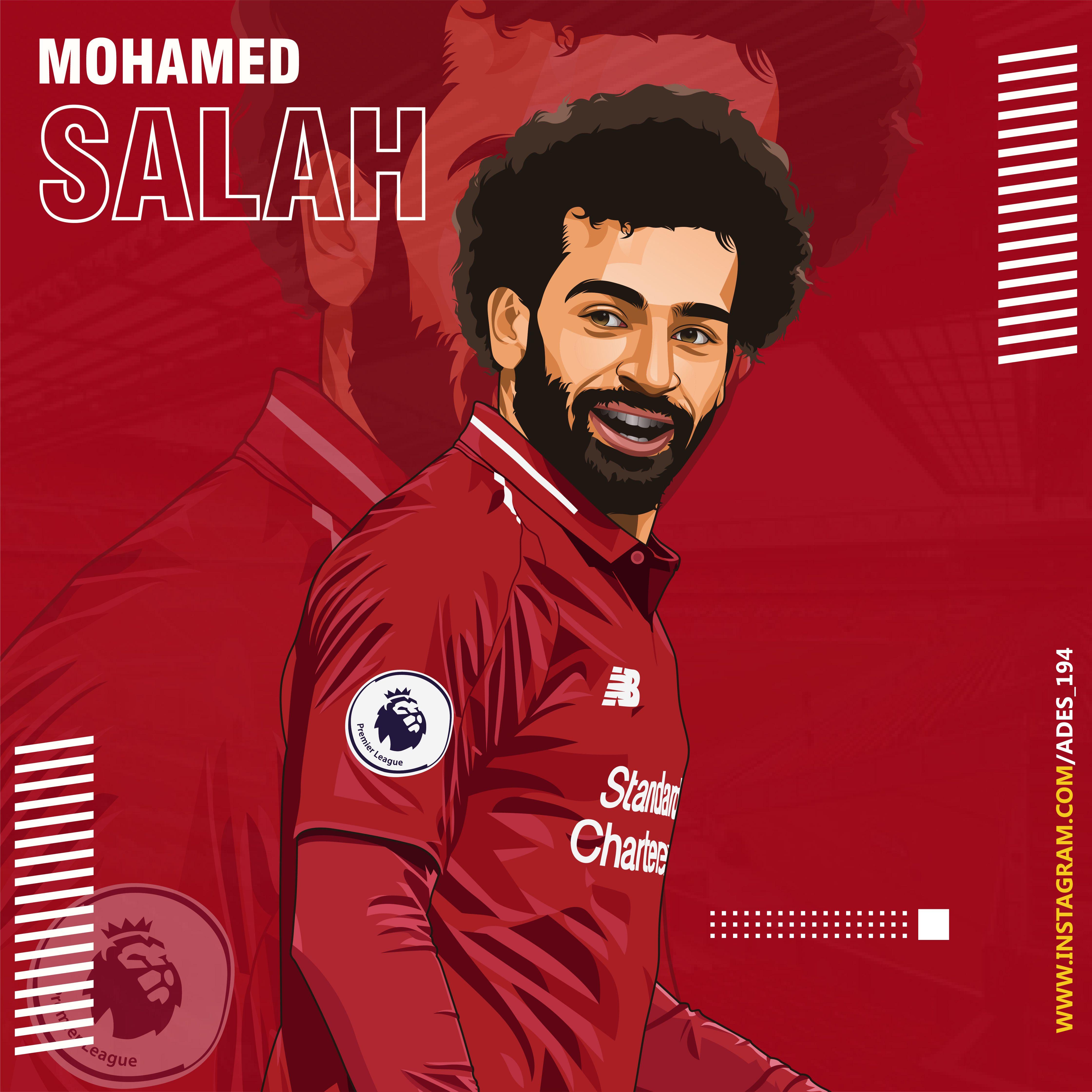 Mohamed Salah In 2020 Liverpool Team Salah Liverpool Liverpool Wallpapers