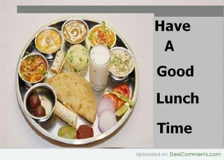 Good Afternoon Have A Lunch Time