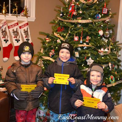The Polar Express Mini Van Adventure with free printable golden - free printable tickets for events