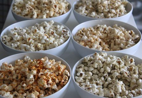 Make your own popcorn variety
