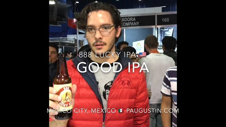 888 lucky beer or 888 lucky ipa named the best beer at 1