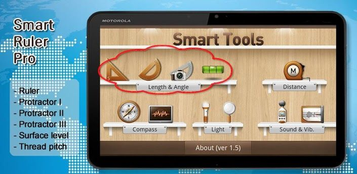 Smart Ruler Pro v2.4.4 apk Requirements 1.6+ Overview