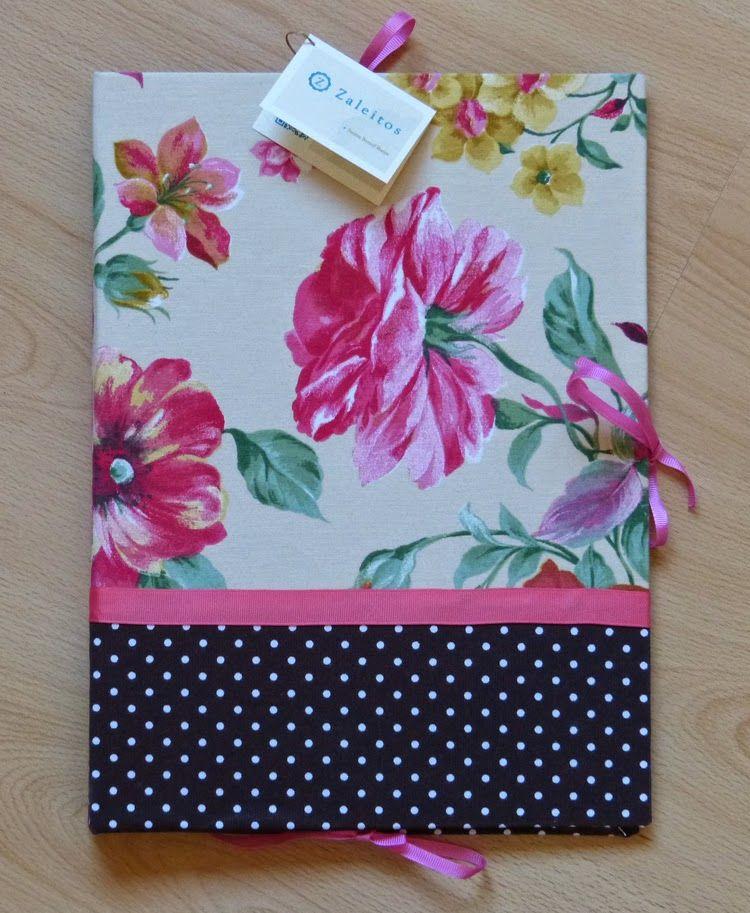 #Carpeta de tela de flores Carpetas