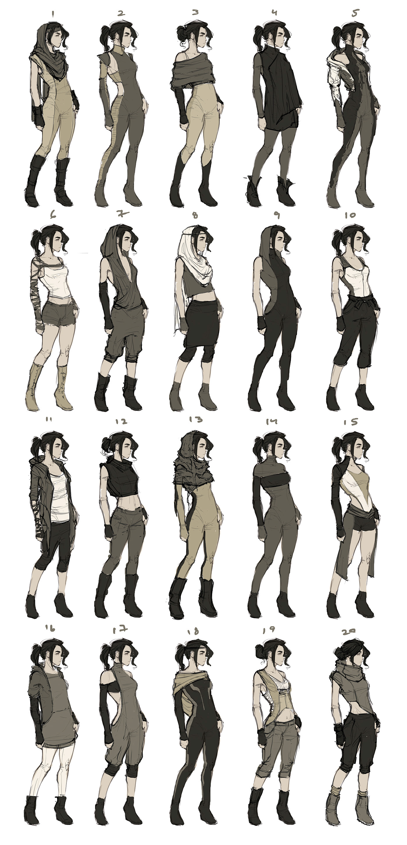 Pin by ♡ Chim ♡ on Character/concept art plus pose