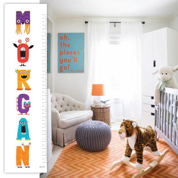 Beautiful nursery ideas #nurserydecor #petitelemon #growthchart #nurseryinspiration  #dominomag #decorpad
