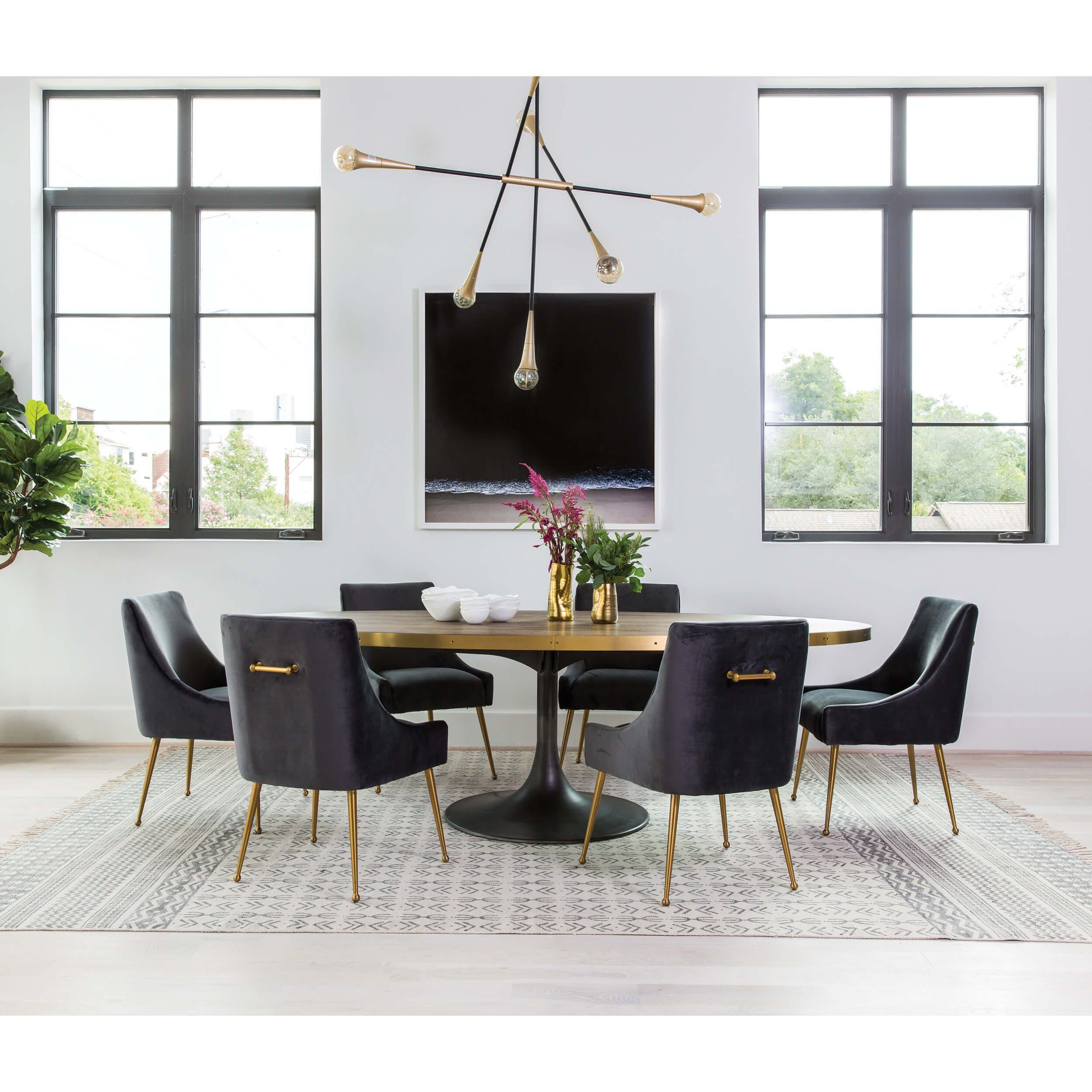 Halmstad Dining Table 6 Hix Chairs In Grey Barker Stonehouse
