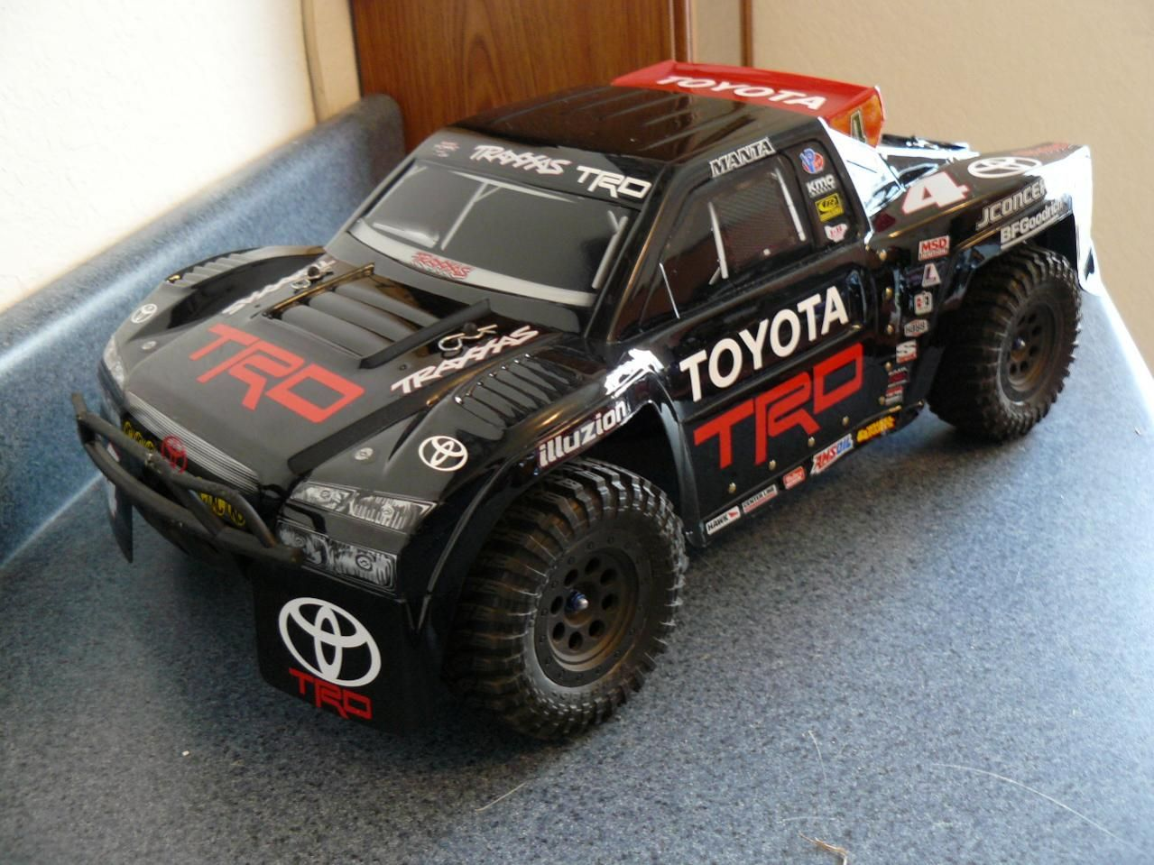 Slash mamba body | RC fun | Rc cars, trucks, Traxxas slash
