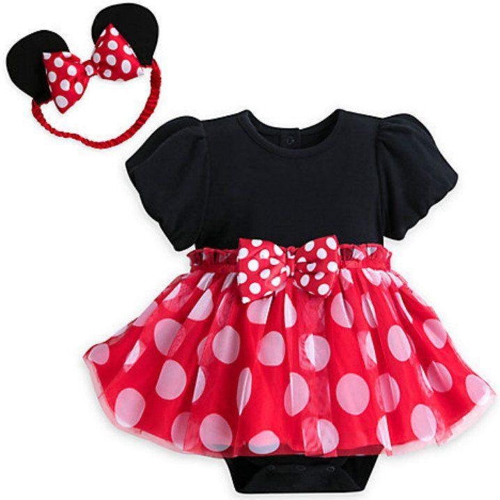 Disney Baby Minnie Mouse Tutu Bodysuit Costume Set   Maddie 1st bday ...
