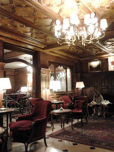Hotel regina Paris - bar