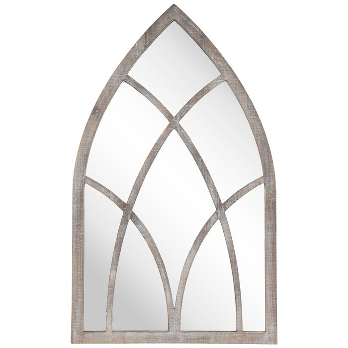 Cathedral Mirror Wood Wall Decor Wood Wall Decor Cathedral