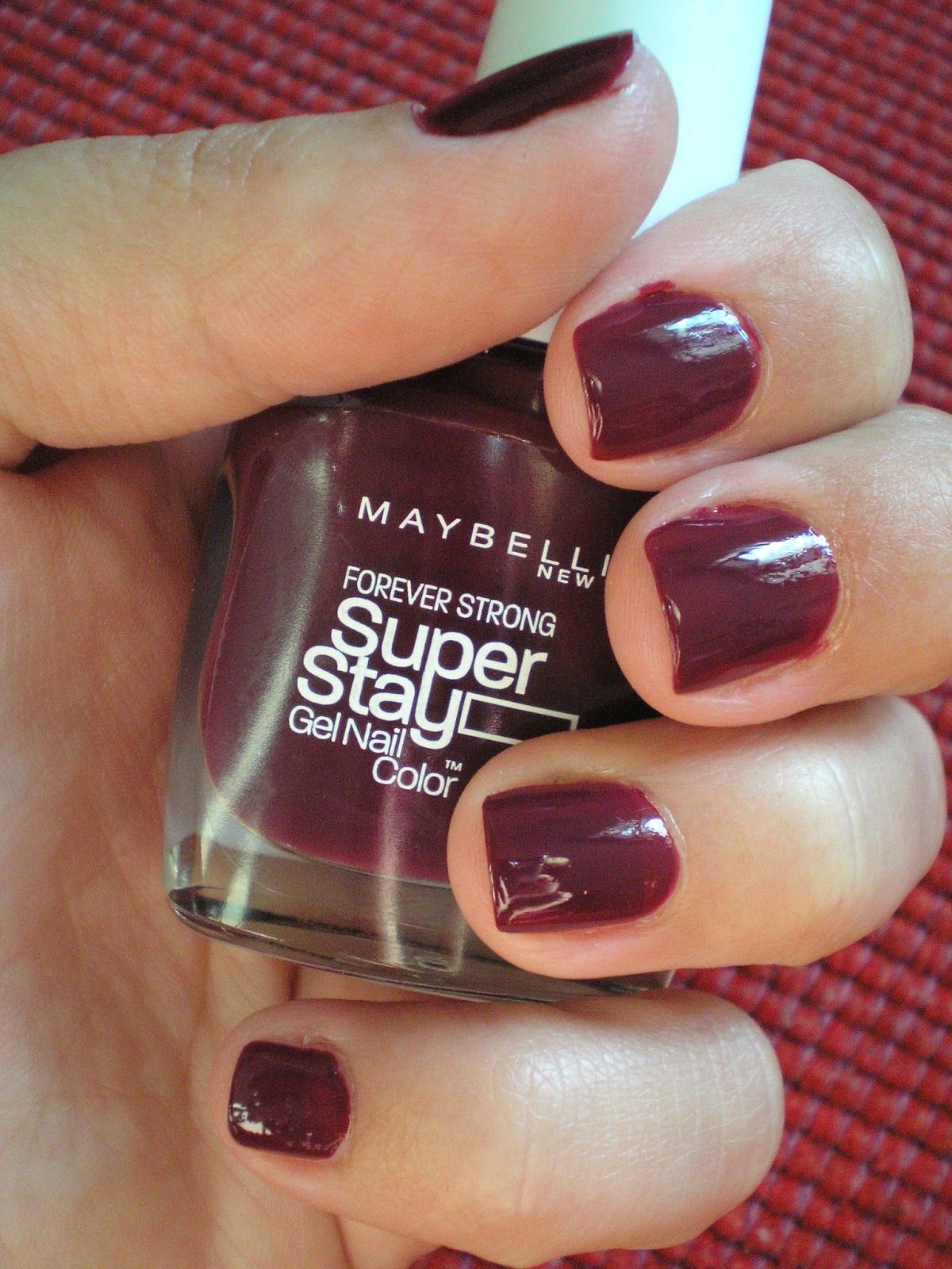 Maybelline - Forever Strong Super Stay 7 Days (#270 Ever Burgundy ...