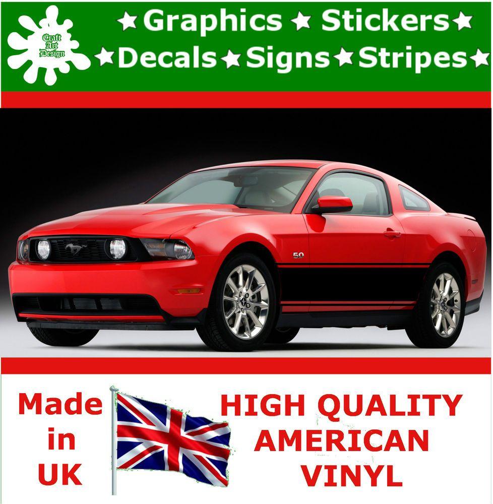 Car design sticker rally - 14 5 Racing Stripe Vinyl Decal Sticker Car Truck Auto Rally Graphic Tq_11_14 5