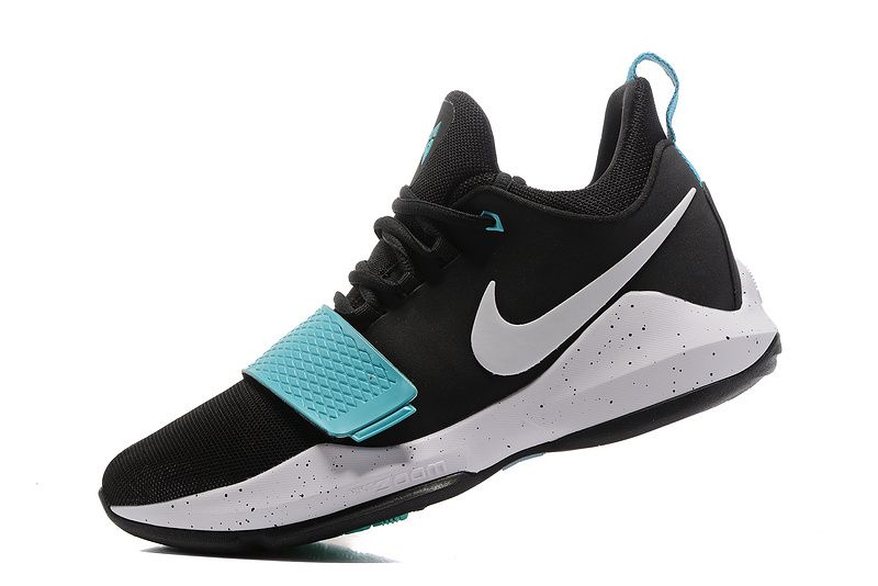 purchase cheap 211df bafb2 2018 Legit Cheap Nike PG 1 One Paul George Shoes Light Aqua Blue Black  Hyper Jade