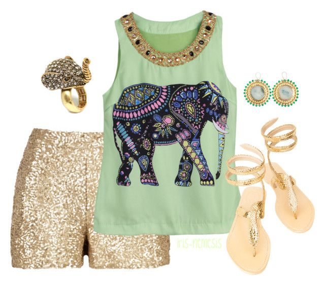 """""""#Animal!"""" by iris-nemesis ❤ liked on Polyvore featuring mode, ASPIGA, Meghna Designs et Fantasy Jewelry Box"""