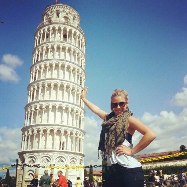 Leaning Tower;; Pisa, Italy <3 ((September 2014))