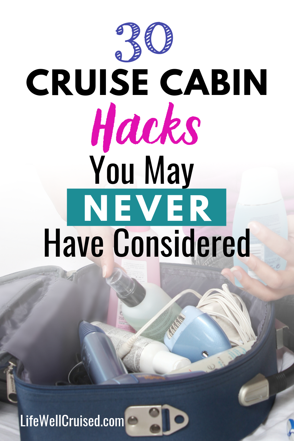 30 Cruise Cabin Hacks You May Never Have Considered