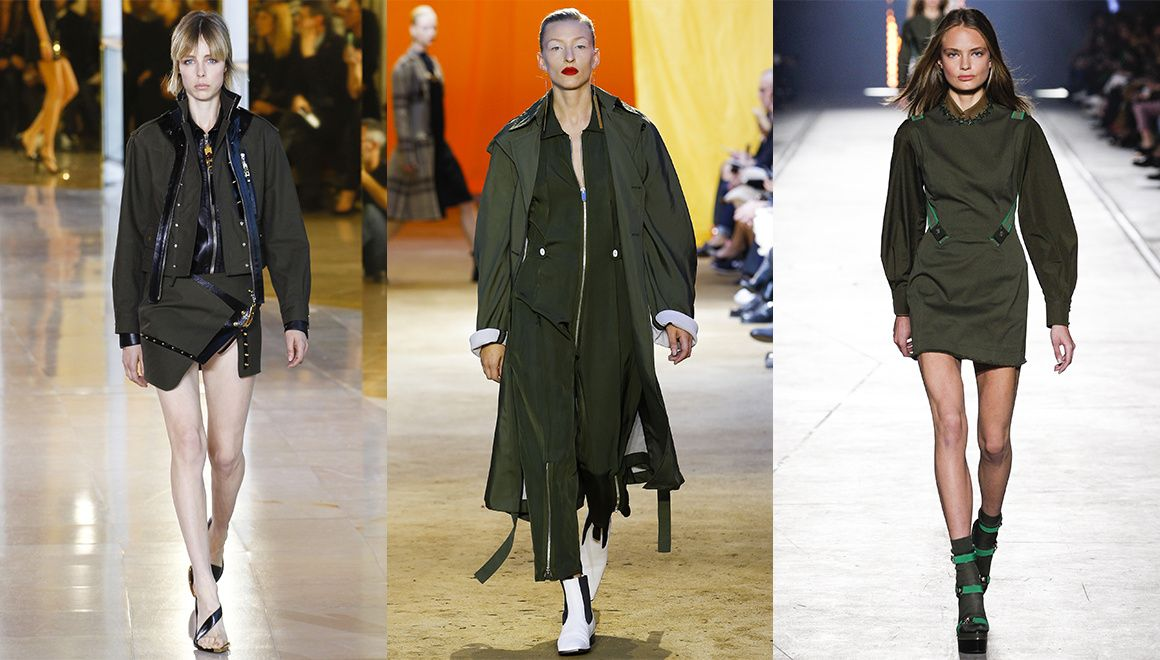 Les tendances mode du printemps t 2016 robes coulante tendances mode et kate moss Vetement tendance pantalon fashion style militaire