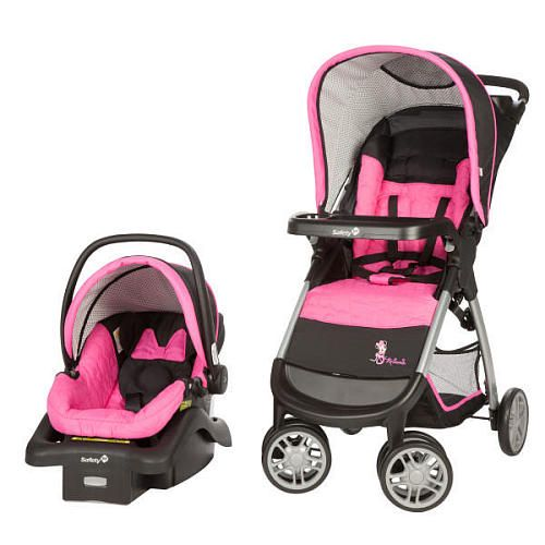 Disney Baby Amble Quad Travel System with OnBoard 22 Infant Car Seat ...