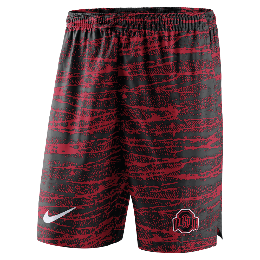 ab4c8c1cca14 Nike College Shield (Ohio State) Men s Shorts Size Medium (Red ...
