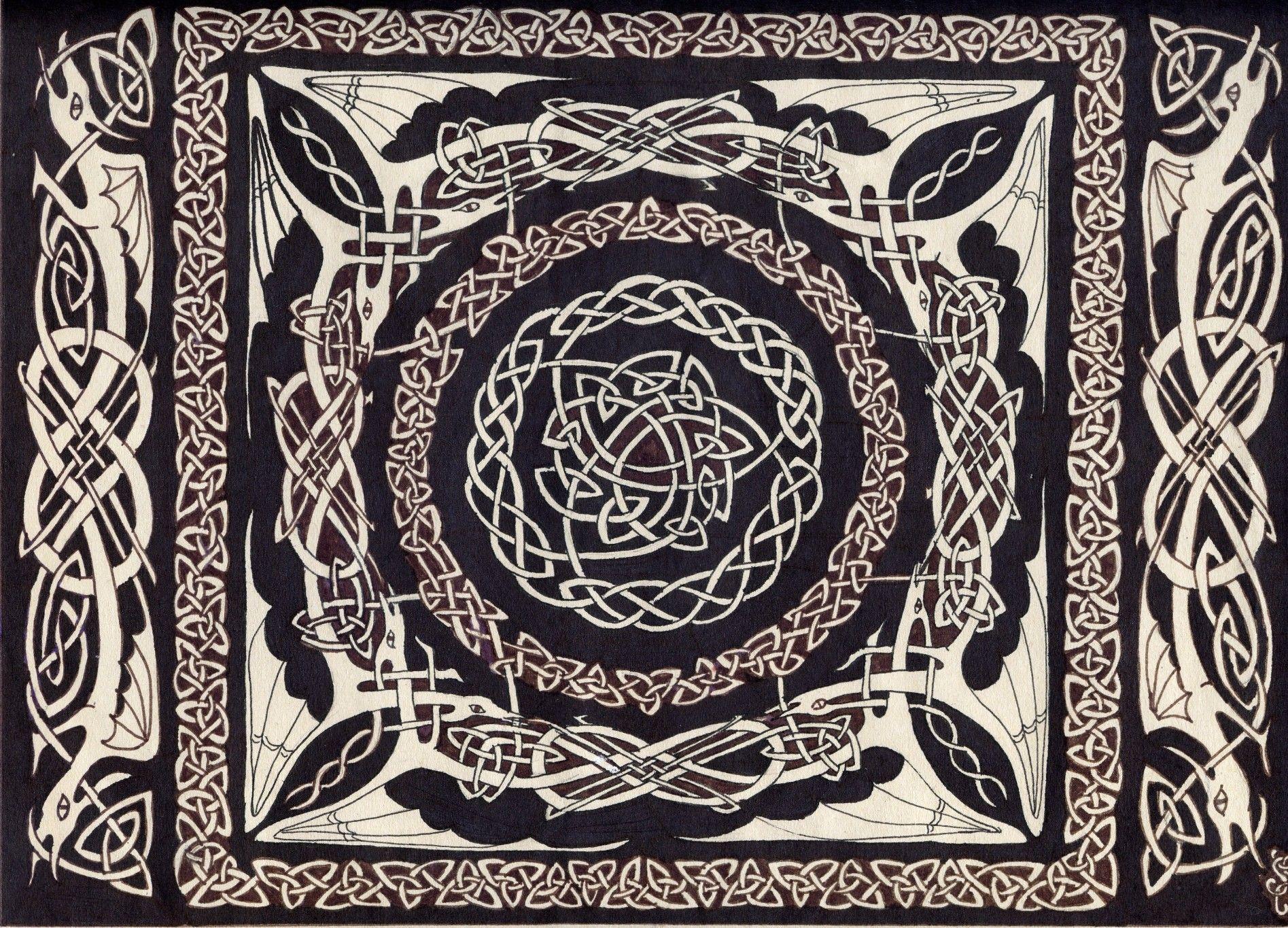 Dinosarahdeviantart Art Celtic Knot 35782667