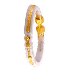 P C Chandra Jewellers 22k Yellow Gold Sankha Bangle Gold Bangles For Women Mens Gold Jewelry Kids Gold Jewelry