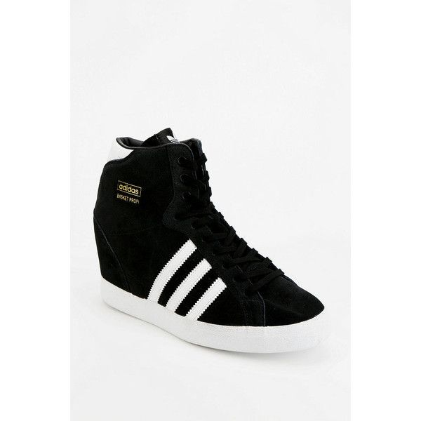811216c65e36 adidas Originals Basket Suede Hidden Wedge High-Top Sneaker ( 40) ❤ liked  on Polyvore featuring shoes