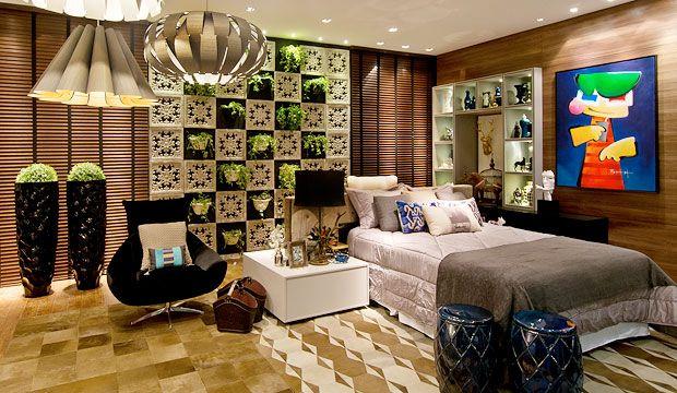 MostraCasa Cor 2015 | quarto moderno  | HOBBY DECOR | hobbydecor | #decor #room #quarto #lving 3design #interiordesign