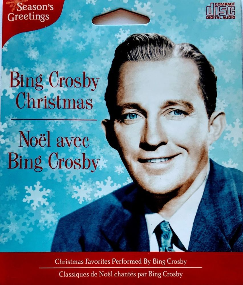 bing crosby christmas cd import 2011 classic christmas songs crooner - Bing Crosby Christmas Songs