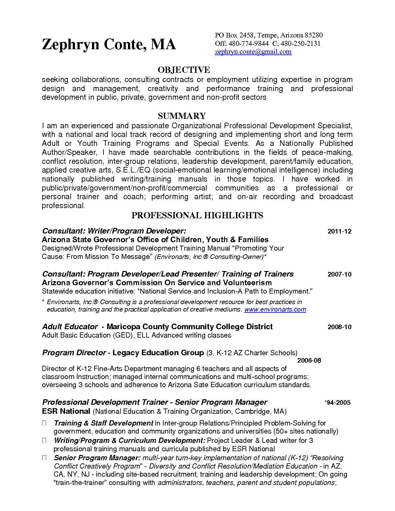 Sample Resume Zumba Instructor Resume Examples Writing A Term