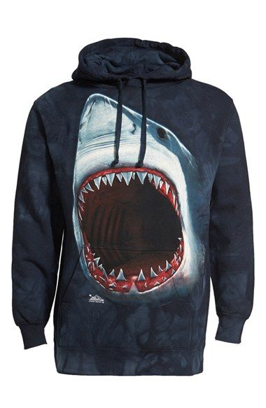 The Mountain 'Shark Bite' Hoodie available at #Nordstrom