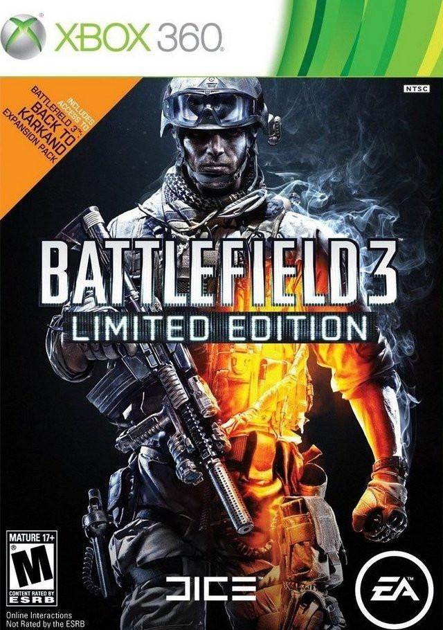 Battlefield 3 Limited Edition Xbox 360 Games Games