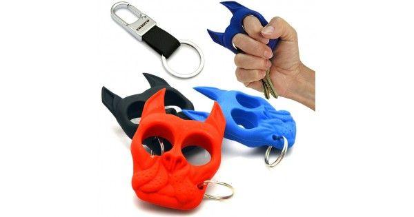 The Brutus Bulldog Self Defense Keychain Self Defense Keychain Self Defense Tools Self Defense