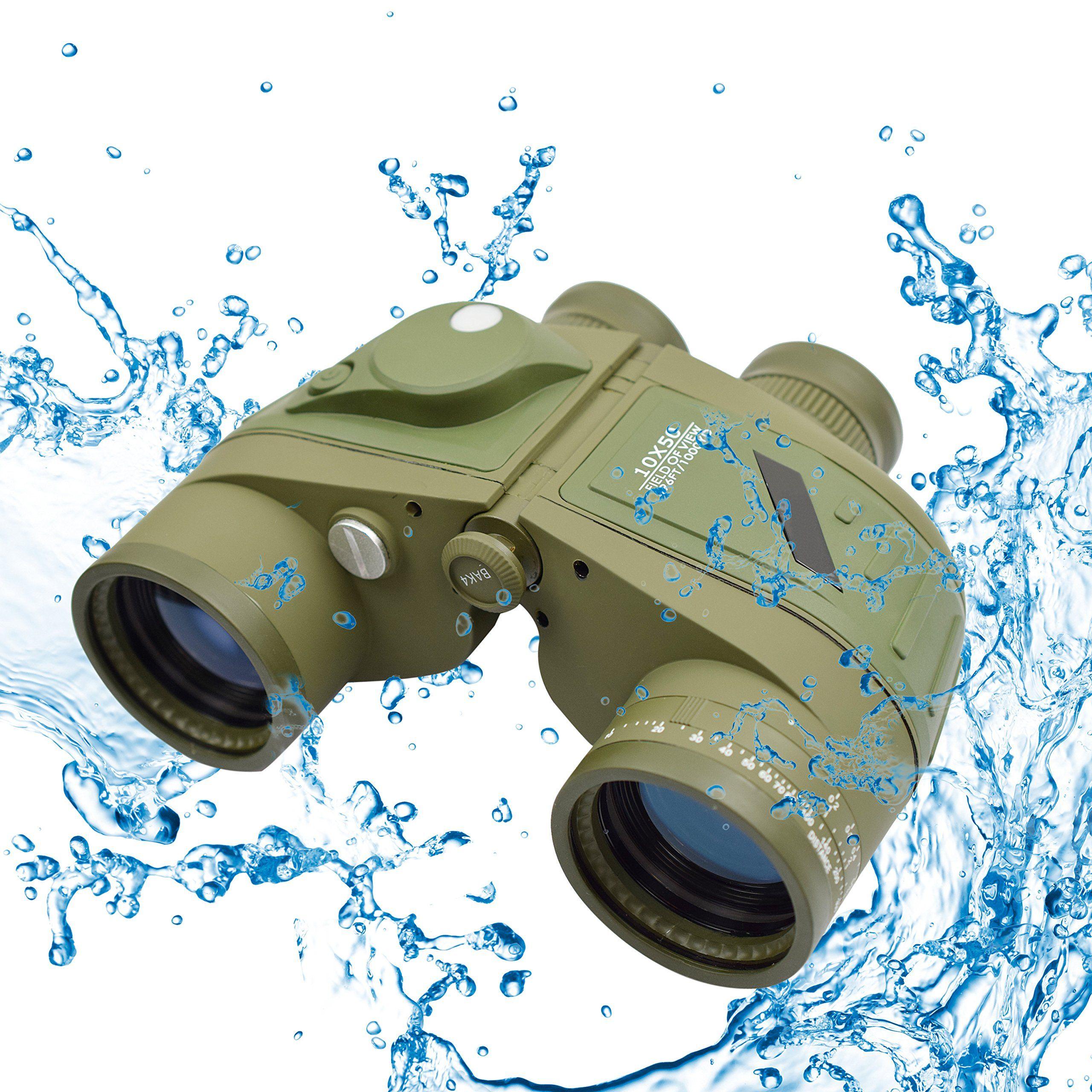 Twod 10X50 Military Army Binoculars with Rangefinder